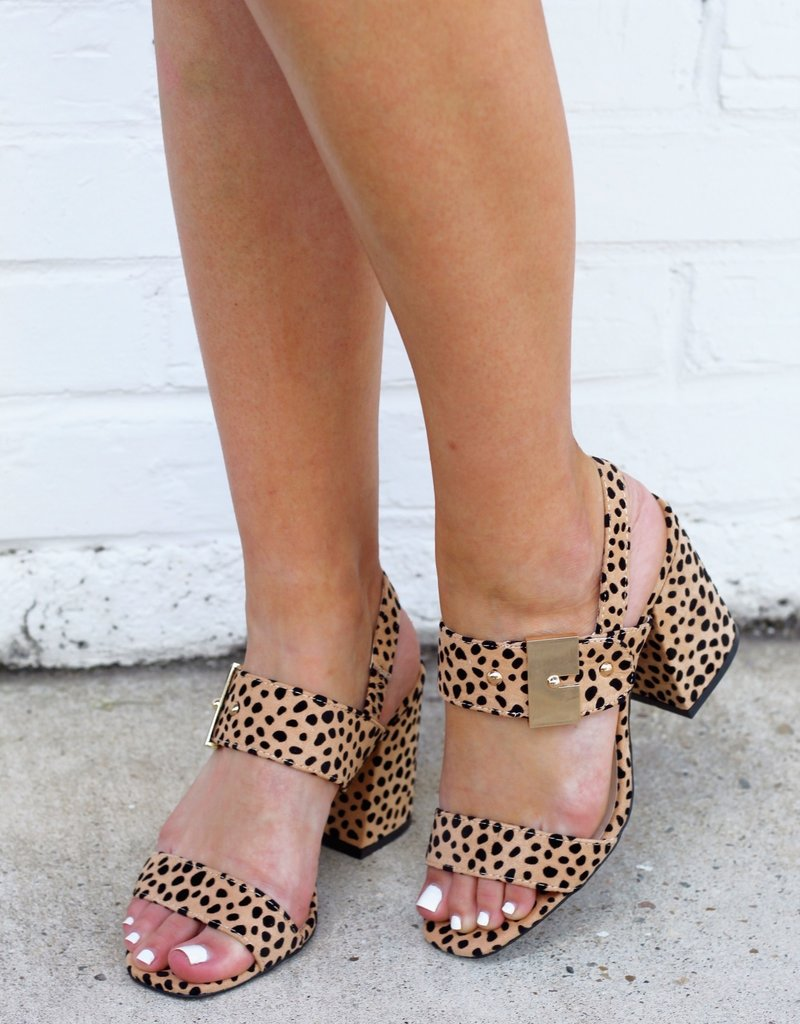 m&z CANNOLI Leopard Heel