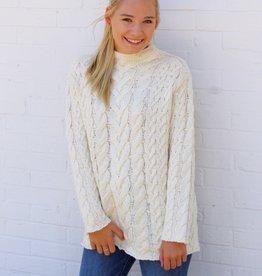 Lost + Wander Vanilla Latte Sweater