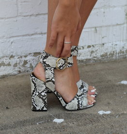 CARISSA Snake Heel