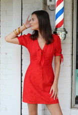 Moon River Cherry On Top Dress