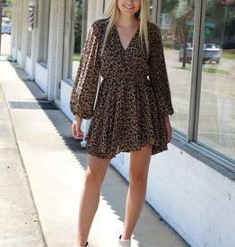 Central Station Dress Leopard