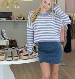 Ione Stripe Sweater