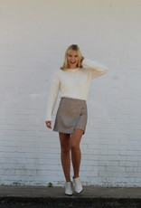 Mochaccino Mini Skirt
