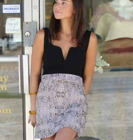 Boa Mini Skirt