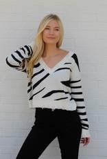 Marty Sweater Zebra