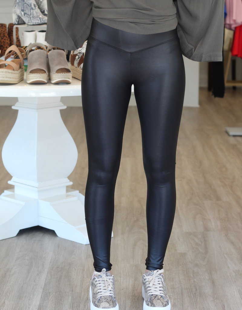 Buddy Love Jillian Faux Leather Legging