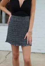 Mink Pink What A Woman Mini Skirt