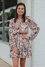Adelyn Rae Vania Fit & Flare Dress