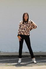 Mink Pink Leonardo Sweater Leopard