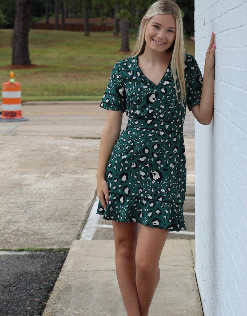 Adelyn Rae Lilth Mini Dress
