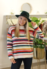 Mink Pink Debby Stripe Sweater