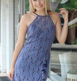 Adelyn Rae Alicia Halter Dress