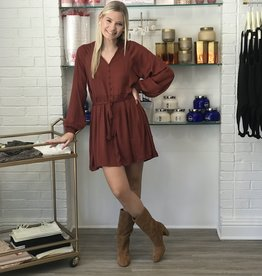 Burnt Sienna Dress