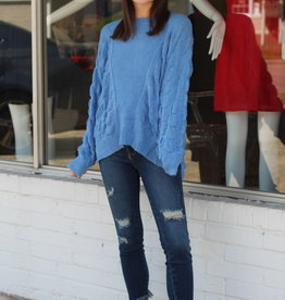 Moon River Bubble Party Sweater