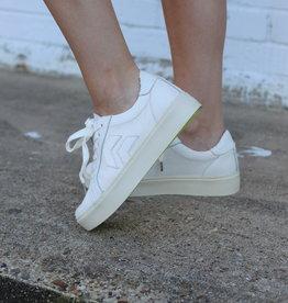Dolce Vita Dolce Vita Yvett White Leather Sneaker