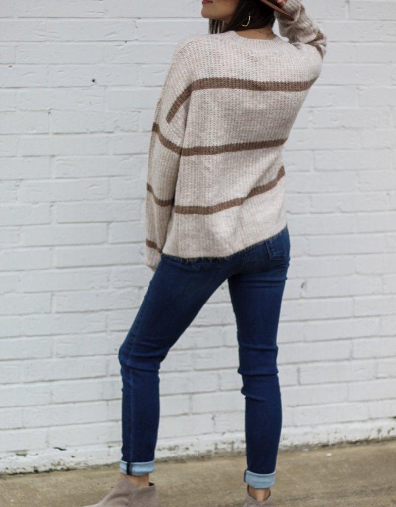 Sneak Peek High Rise Skinny Jean