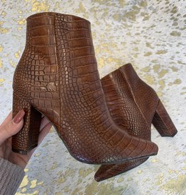 m&z Bellflower Crocodile Bootie