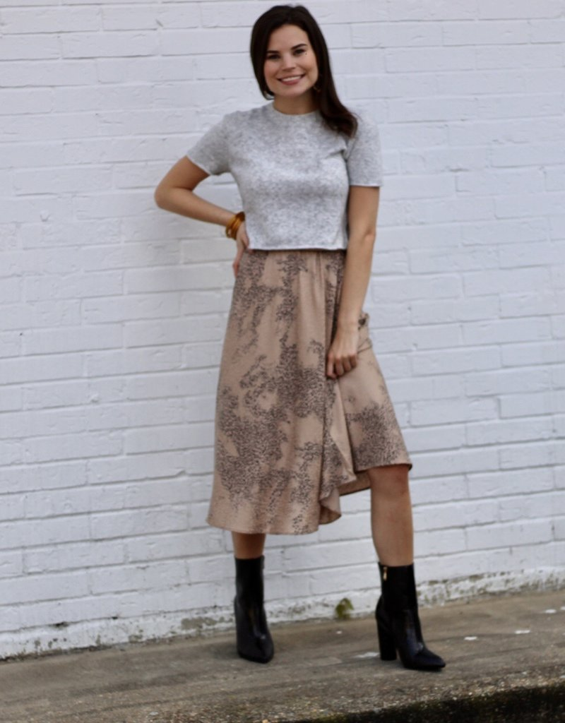 current air Trendy Skirt Taupe