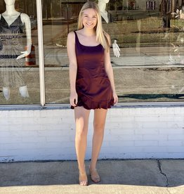 le lis Plum Perfection  Dress