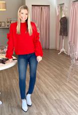 vine & love So Much Love Sweater