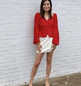Adelyn Rae Kiah Top Red