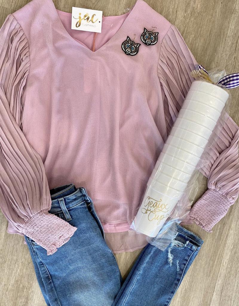 style u Love Love Lavender Top