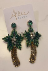 allie beads Allie Beads Palm Tree Earrings