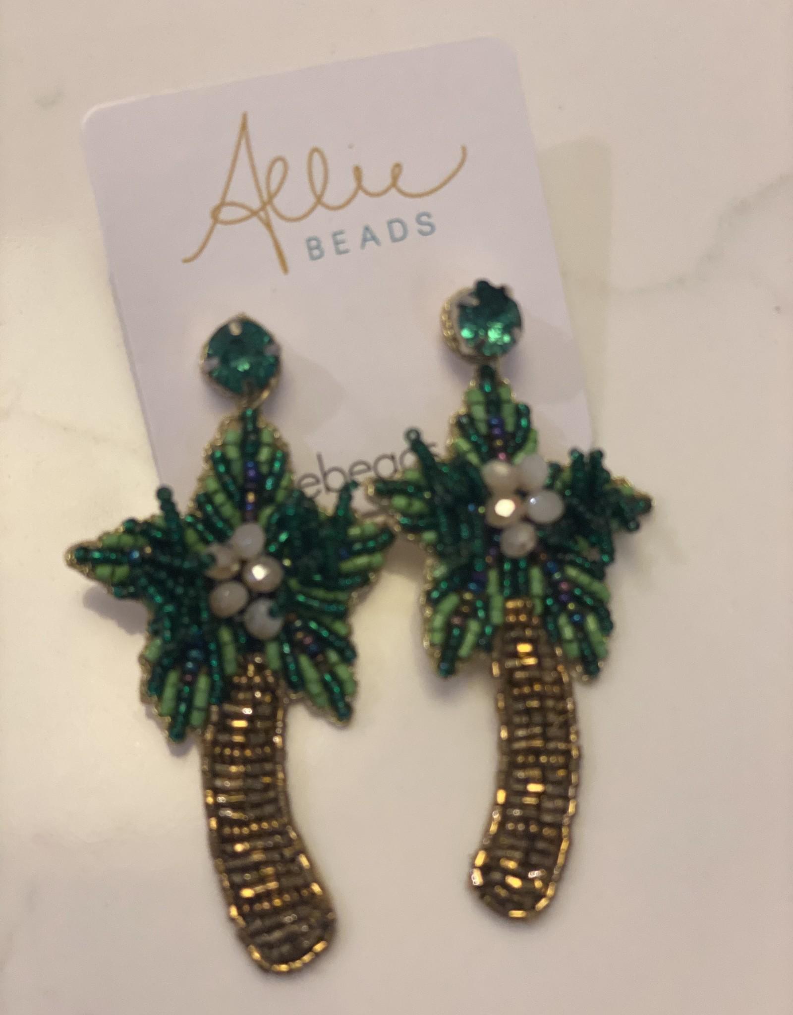 allie beads Allie Beads Palm Tree Earrings