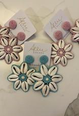 allie beads Allie Beads Beachy Drop Earrings