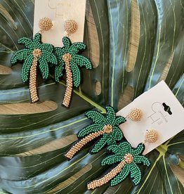 Caroline Hill Vacay Ready Palm Earring