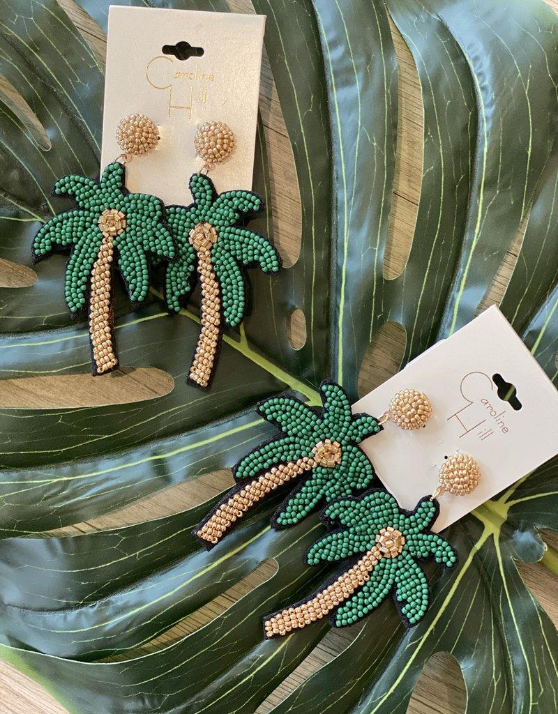 Caroline Hill Vacay Ready Palm Earring
