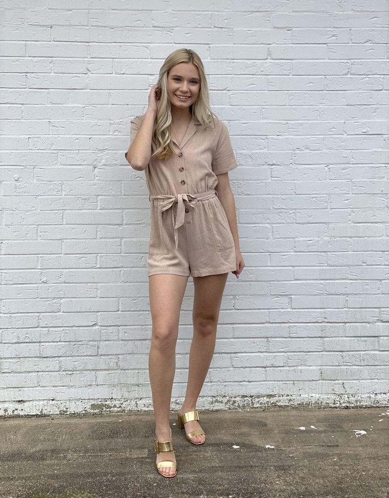 Come To My Villa Romper