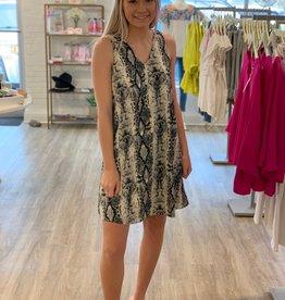 Melanie Dress Grey