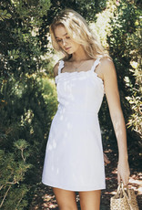 Lost + Wander White Sands Mini Dress