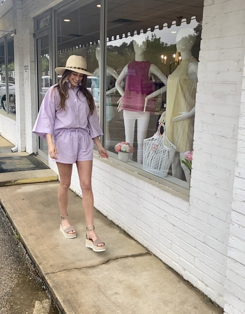 charlie holiday Harlow Short Lilac