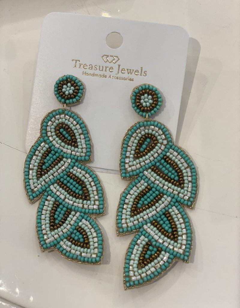 Treasure Sammy Blue Earring