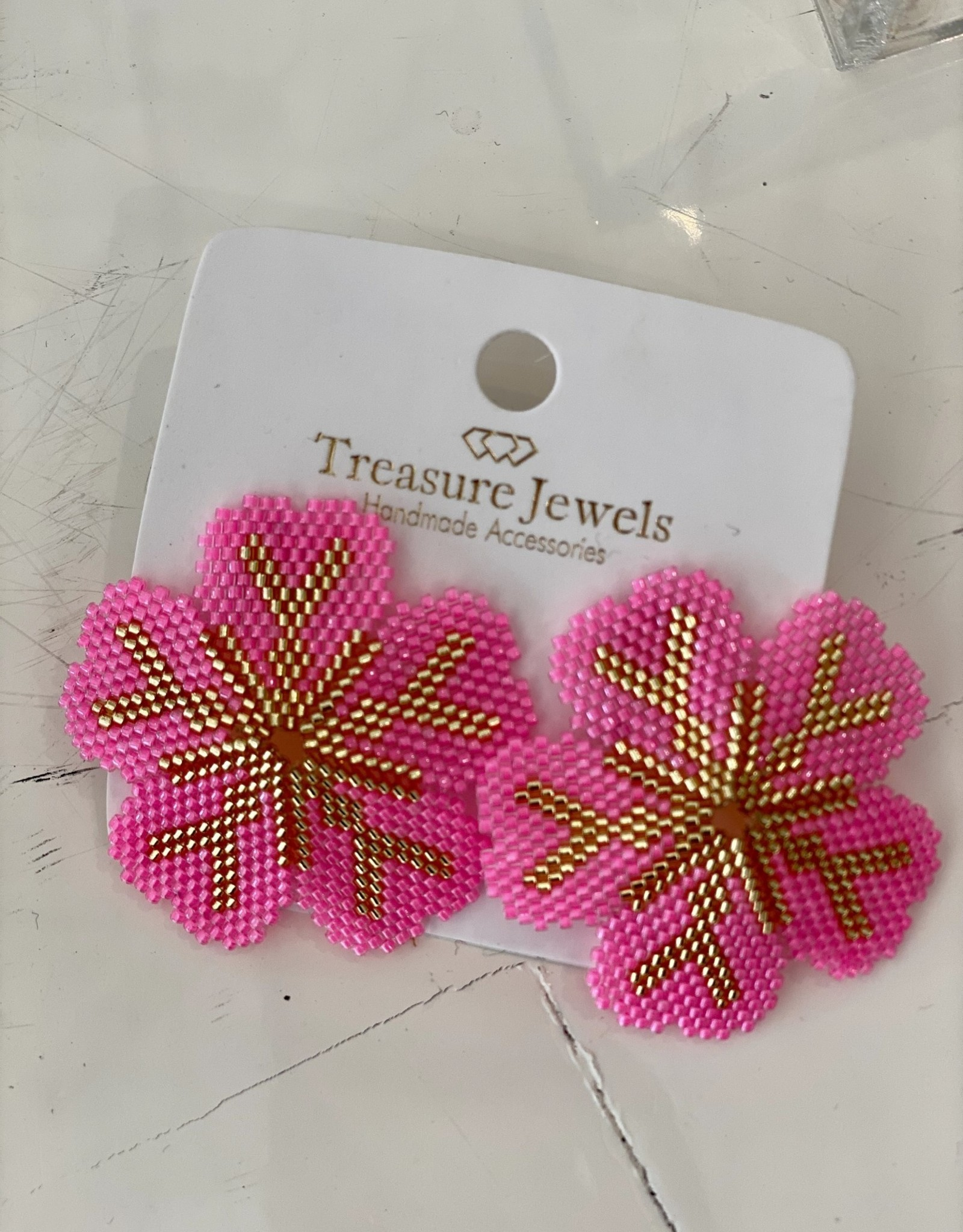 Treasure Courtney Earring Pink