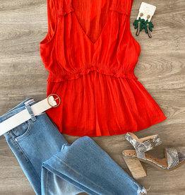 Big Apple Red Top