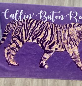 Calling Baton Rouge Beach Towel