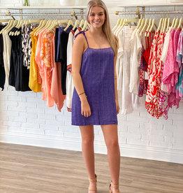 Buddy Love Buddy Love Tobin Purple Dress