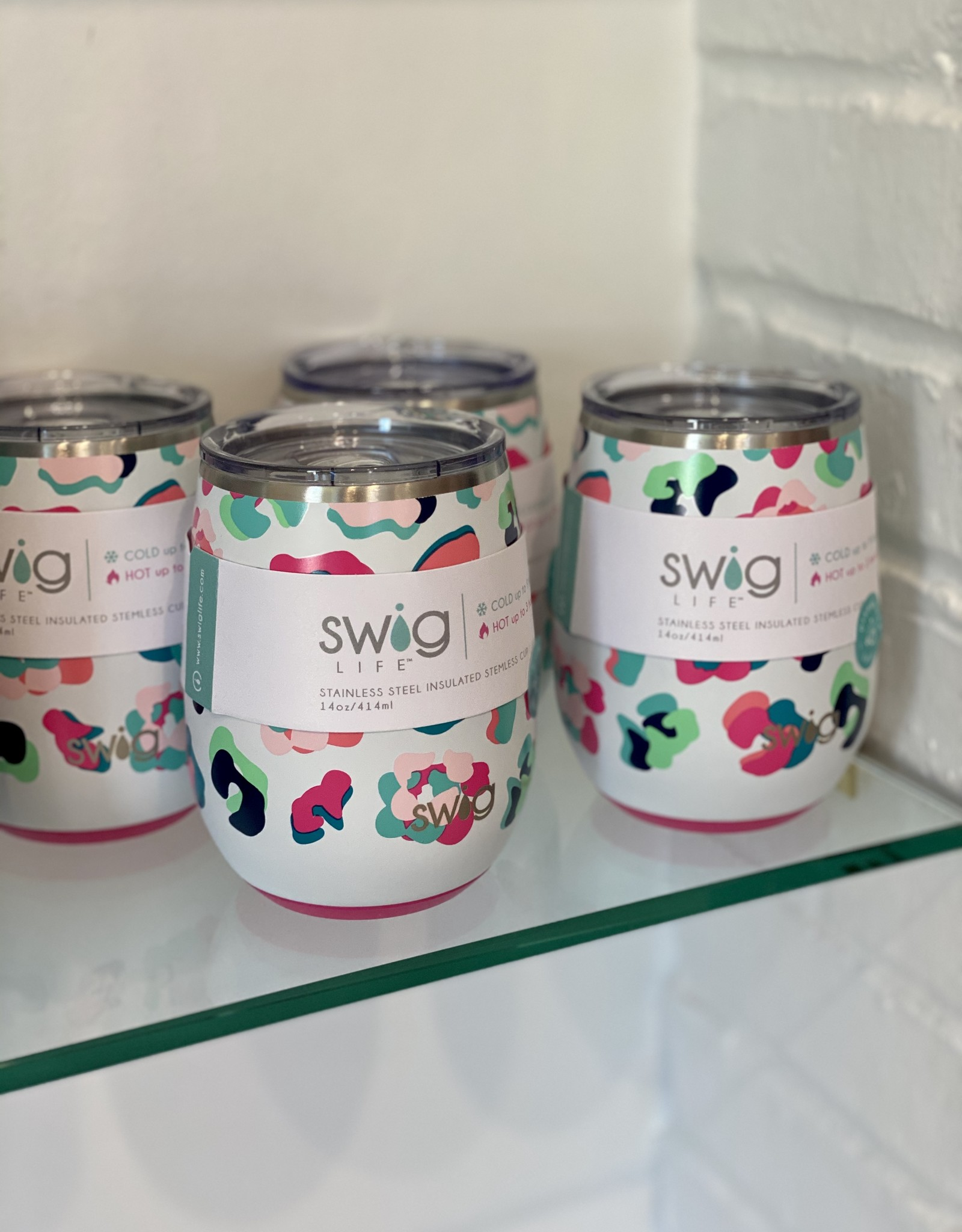 Swig Party Animal Stemless Wine Cup