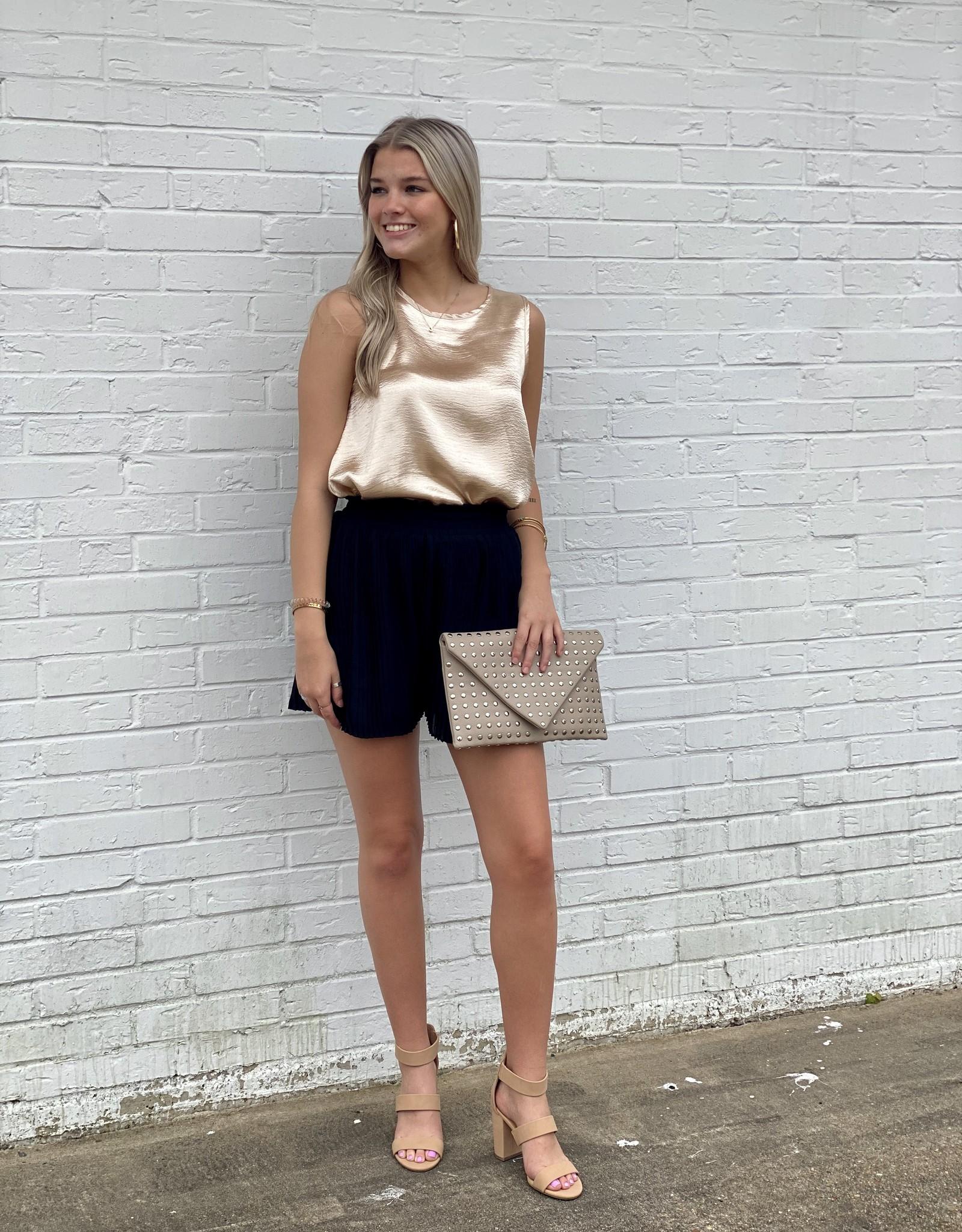 Julia Pleated Shorts