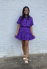 Buddy Love Buddy Love Ray Ultraviolet Dress