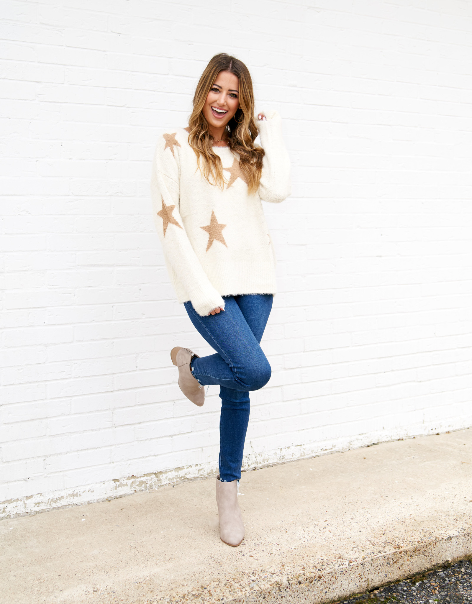 Buddy Love Stars Sweater