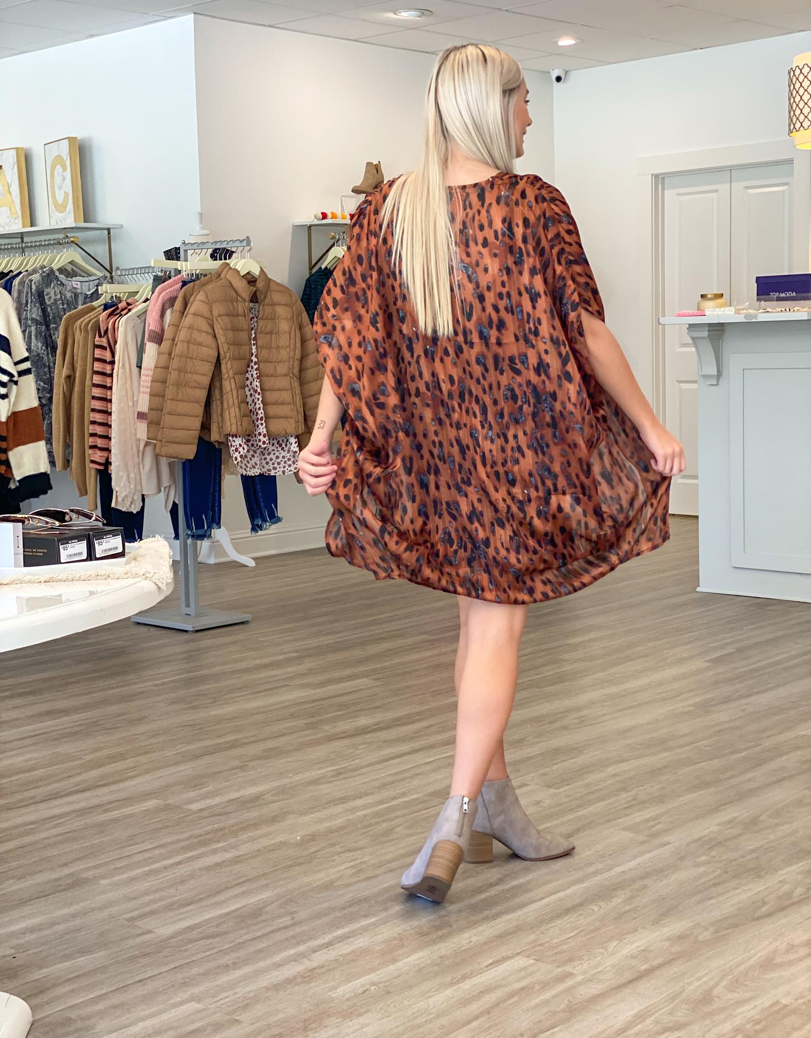style u Cinnamon Kimono