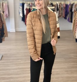 love tree Peggy Jacket Camel
