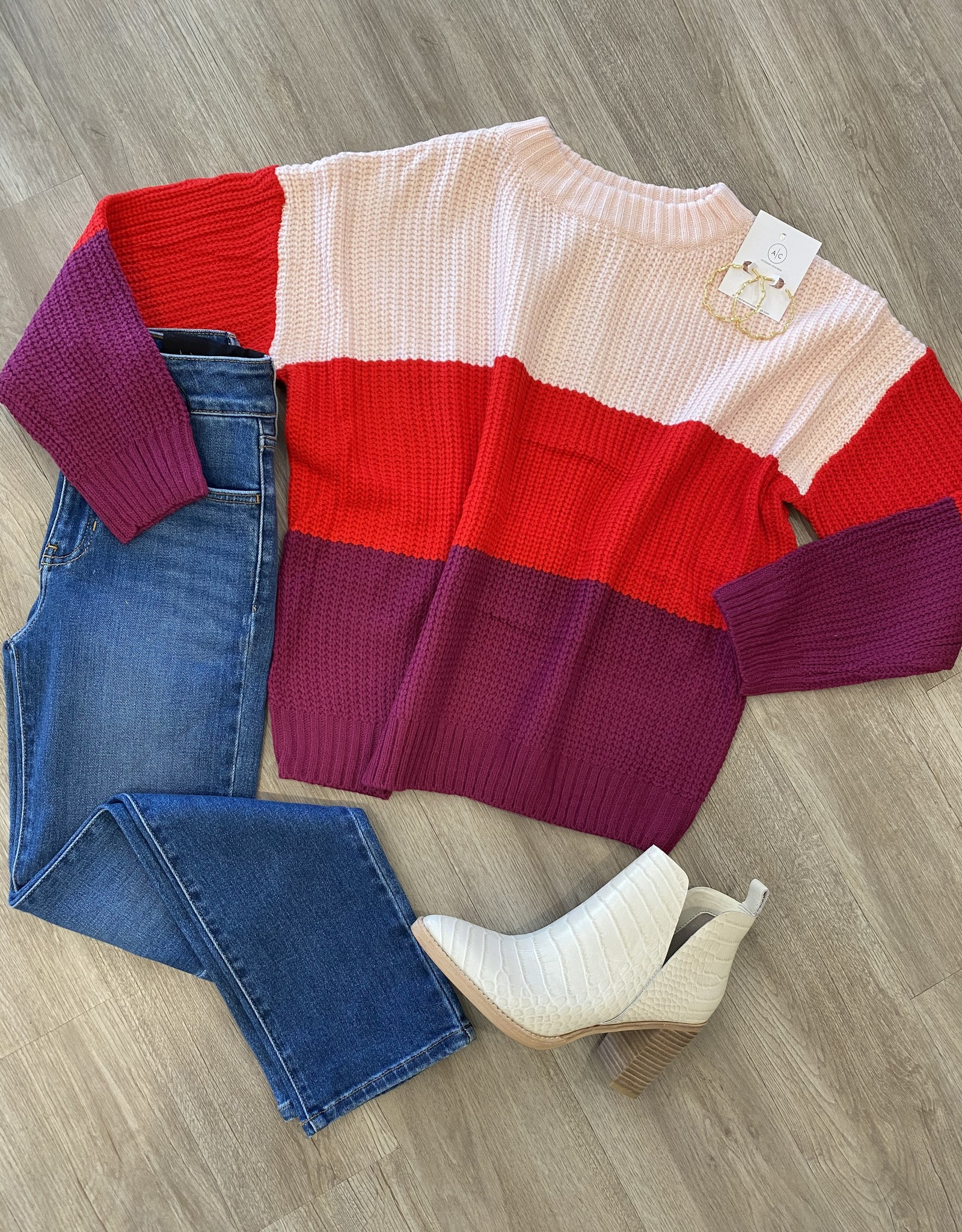 mainstrip Maggie Sweater