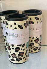 Swig Luxy Leopard Skinny Can Koozie