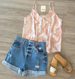 Ditsy Floral Bow Tank