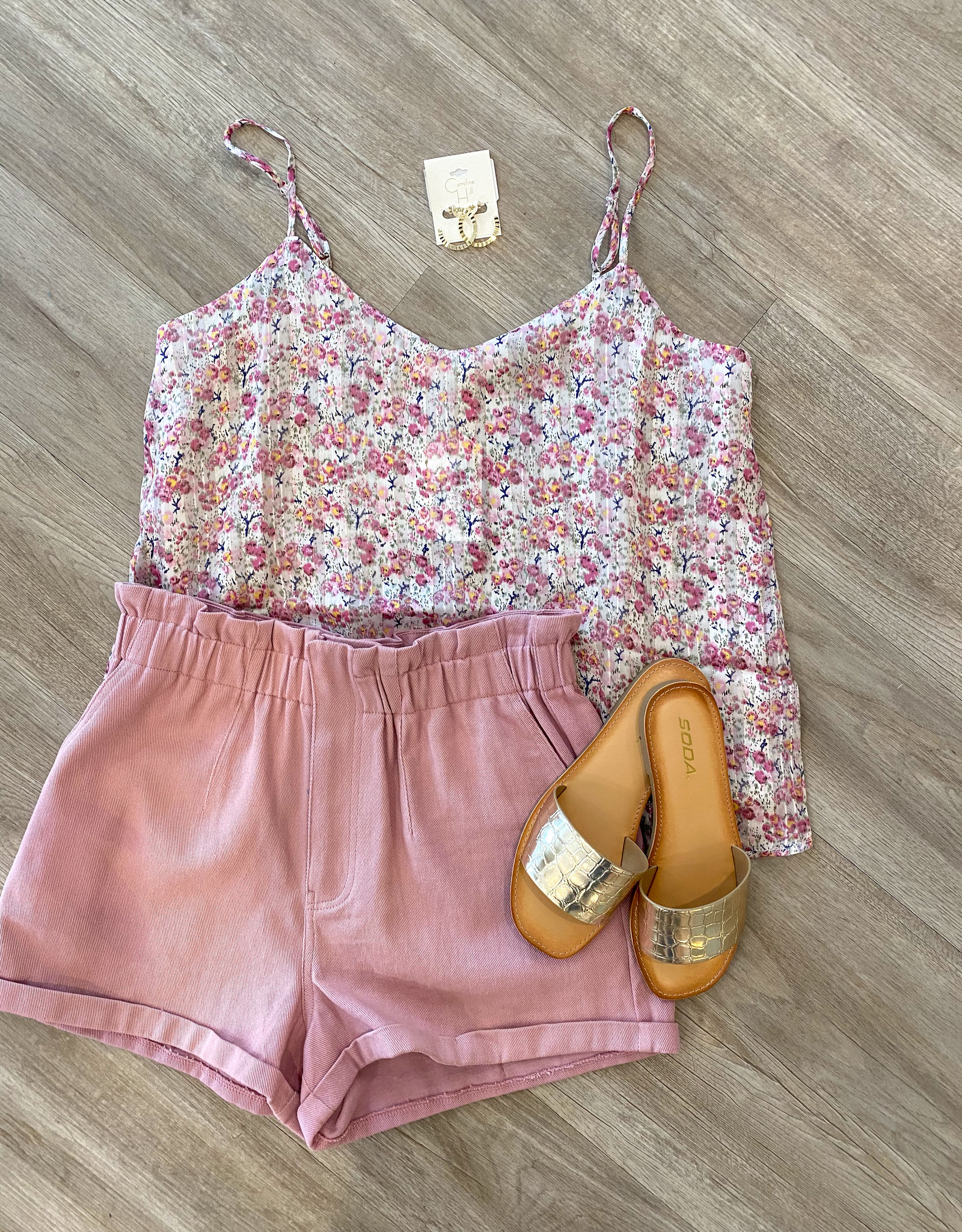 Pretty In Petunia Top